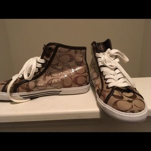 Coach Sneakers Hi-top Brand New Without Tags